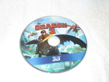 3D Movie Blu Ray HOW TO TRAIN YOUR DRAGON 2  DISC ONLY */*