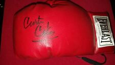 Curtis Cokes Autographed Signed Everlast Leather Boxing Glove