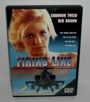 THE FIRING LINE DVD Shannon Tweed Reb Brown RARE & OOP