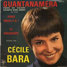 CECILE BARA PARIS EN COLERE FRENCH ORIG EP