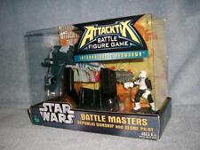 Republic Gunship Clone Pilot Star Wars Attacktix Battle Game Hasbro 2006 New MIB