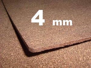 DICHTUNG Kork Korkdichtung Ölwanne Ventildeckel 4mm DIN A4