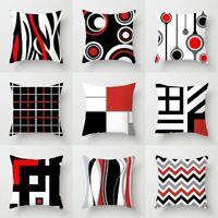 Creative Waist Throw Geometric Cover Polyester Home Case Decor Cushion Pillow