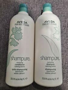 Aveda shampure shampoo 1 LITRE & Aveda Shampure conditioner 1 LITRE