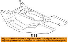 FORD OEM 13-16 Escape Center Console-Finish Panel Trim DJ5Z78045A76AB