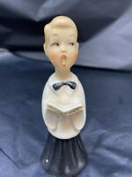 Vintage Choir Boy Figurine Japan Old