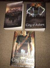 LOT OF 3 #1-3 THE MORTAL INSTRUMENTS SERIES BOOK SET CITY OF BONES (BH)
