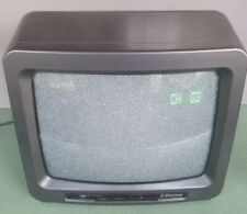 "Emerson TC1375A 13"" TV Color Television CRT Retro Game 1994 No Remote"