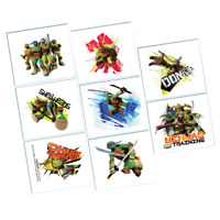 TEENAGE MUTANT NINJA TURTLE 8 TATTOOS BIRTHDAY PARTY SUPPLIES