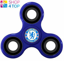 CHELSEA FC FIDGET SPINNER DIZTRACTO SPINNERZ FOOTBALL SOCCER CLUB TEAM BLUE NEW