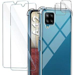 5in1 Schutzhülle Kamera Glas Schutz Folie Panzerfolie Handyhülle Slim Cover Case