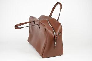RRP$429 SUITSUPPLY Men One size Full Grain Calf Leather Portfolio Bag 15121_