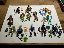 Playmates TMNT Action Figure Lot figures/Accessories RARE FIGURES SOFTHEAD