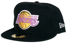 the latest 1dabb 5b8d5 Los Angeles Lakers LA 59Fifty New Era Fitted NBA HWC Basketball Hat - Size 7  3