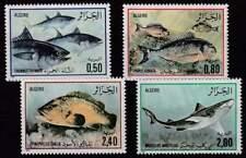 Algerie postfris 1985 MNH 873-876 - Vissen / Fish (k042)