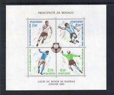 MONACO MNH 1982 MS1579 WORLD CUP FOOTBALL CHAMPIONSHIP