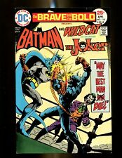 BRAVE AND THE BOLD 118 (8.5) JOKER COVER DC (b049)