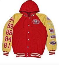 NFL Mens 49er Super Bowl Championship Jacket