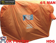 4-5 PERSON GROUP MOUNTAIN BOTHY EMERGENCY HIS VIS SURVIVAL SHELTER BASHA