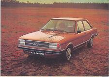 Audi 80 GTE European issue postcard 1976-77