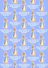 Peter Rabbit Personalised Gift Wrap - Peter Rabbit Boys Wrapping Paper