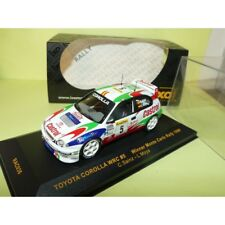 TOYOTA COROLLA WRC RALLYE MONTE CARLO 1998 C. SAINZ IXO RAC036 1:43 1er