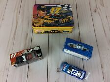 Lot of 2 #17 Matt Kenseth Team Caliber 1:64 Cars with Collectible Tin