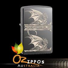 Zippo Lighter Anne Stokes-Dragon, Black Ice 28961 --- Free Shipping in Australia