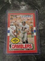 1985 Topps USFL #45 Jim Kelly Houston Gamblers (USFL) Buffalo Bills Card