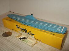 Vintage Rare Tri-ang Minic Waterline Ships M751 HMS Bulwark in 1:1200 Scale