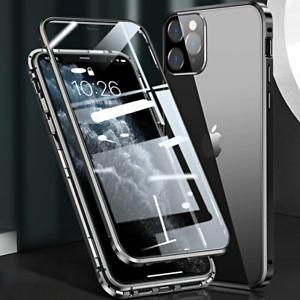 COVER per iPhone 12 Pro Max Mini Alluminio MAGNETICA 360 DOPPIO VETRO TEMPERATO