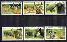 Animaux Faune Sauvage Bénin (18) série complète 6 timbres oblitérés