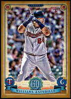 Willians Astudillo 2019 Topps Gypsy Queen 5x7 Gold #152 RC /10 Twins