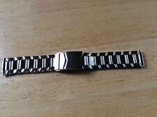 NEW Kreisler WATCH BAND BRACELET - Stainless Steel Sport Metal Adj 16-21mm 802W