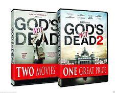 2 DVD-God's Not Dead and God's Not Dead 2- Dvd Combo-NEW
