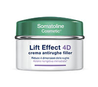 Somatoline Cosmetic Crema Giorno Viso Antirughe Filler Lift Effect 4D Cream 50ml