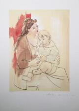 Pablo Picasso lithograph, hand signed by Marina Picasso