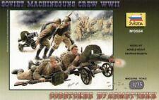 Zvezda 3584 Soviet Machineguns Crew WWII 1/35