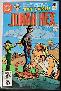 * JONAH HEX 52 NM 9.4 White Pages BATLASH backup story DC Western *