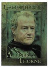 2012 Game of Thrones Season 1 Foil Parallel Card #36 Ser Alliser Thorne