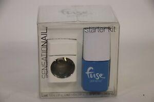 Fuse GELNAMEL Nail Gel Starter Kit with LED Lamp SONIC BLUE