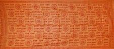 Hey Ram Om Neck Scarf Shawl Buddhism 32 x 76 Saffron