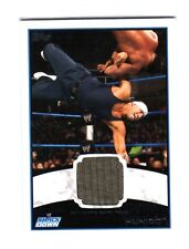 WWE Hunico 2012 Topps Authentic Event Worn Shirt Relic Card Grey