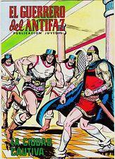 EL GUERRERO DEL ANTIFAZ (Reedición color) nº: 201.  Valenciana, 1972-1978.