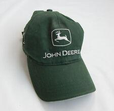 John Deere Logo Baseball Farmer Cap 100% Cotton Green