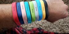 NEW Multicolors Fitbit Flex 2 Band 9-Pack (💚❤💛💙🖤🤍) Size Large