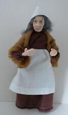 Dolls House Miniature Tudor Peasant Lady 1-12TH Scale