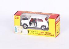CORGI TOYS 282 * MINI COOPER RALLYE # 177 * OVP * ORIGINAL 1970