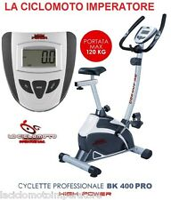 CYCLETTE BK 400 PRO MAGNETICA HIGH POWER FITNESS HOME BIKE BICI BICICLETTA SPORT