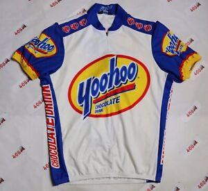 Pearl Izumi Cycling Jersey Men's Medium White Yoohoo